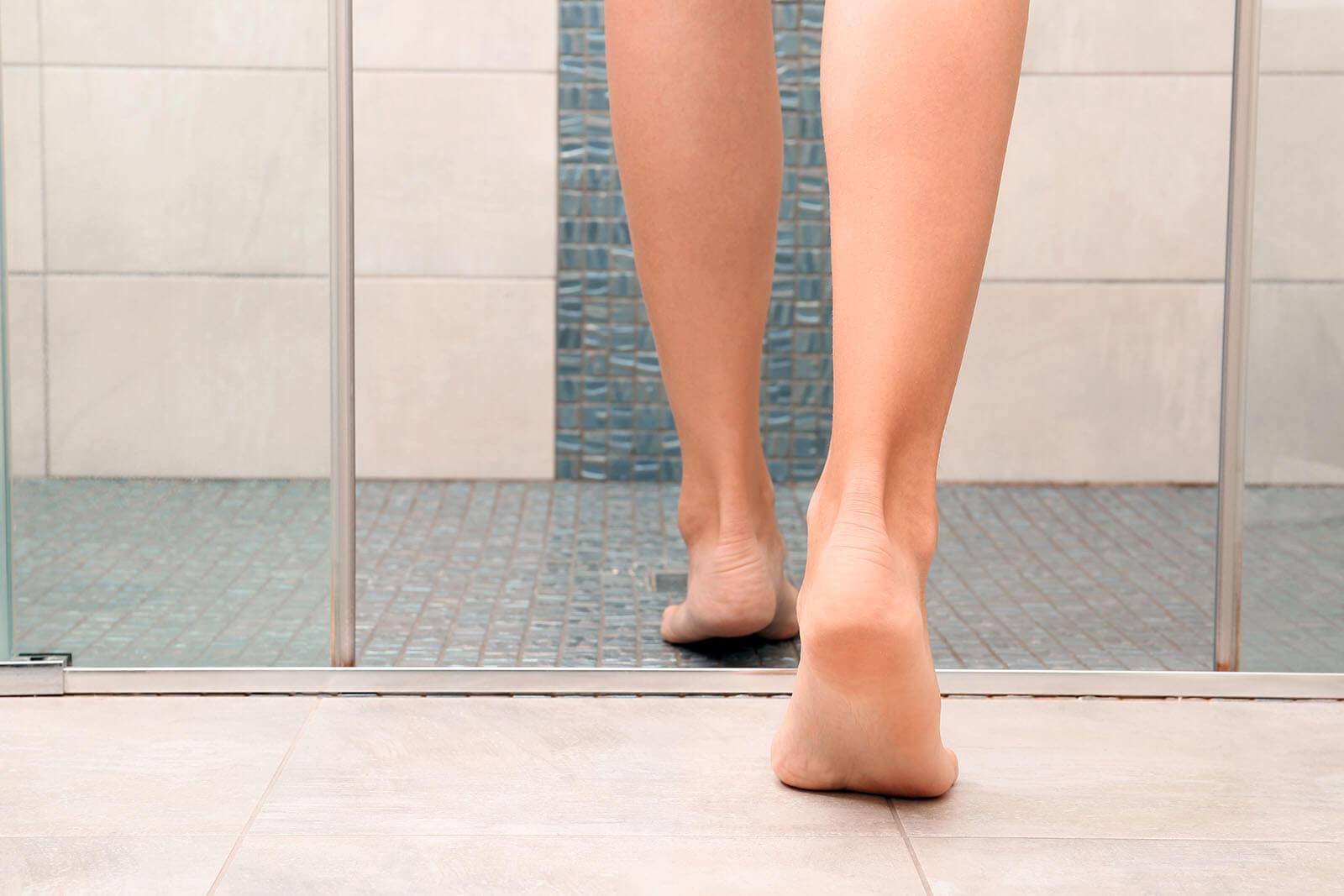 Solutions For Slippery Bathroom Floors