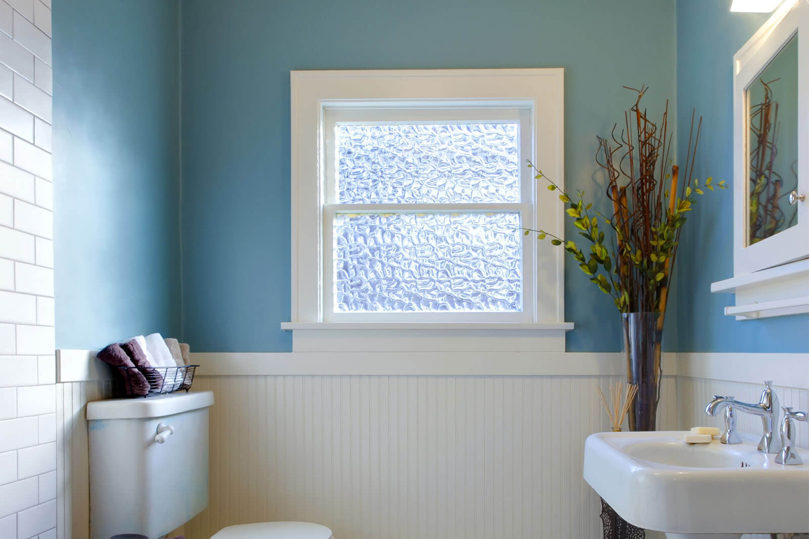 Gl Is Best For Your Bathroom Window